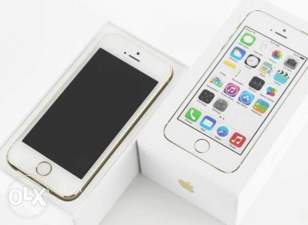 apple iPhone 5S GOLD 16 G WITH BOX