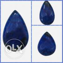Blue natural fire agate