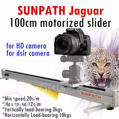 Canon 5D mark III SUNPATH 1m motorized camera slider motor dslr