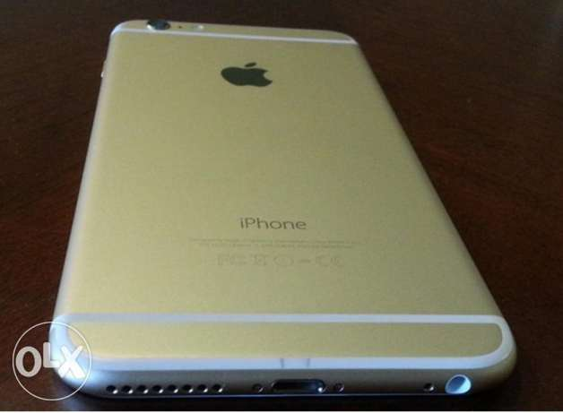 i phone 6 plus 128 GB gold from Kuwait الإسكندرية -  2