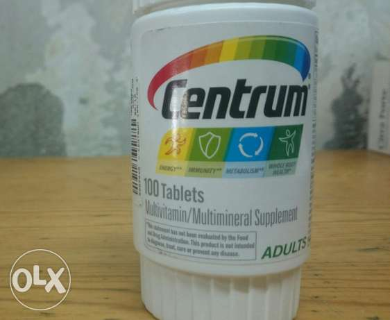 Centrum 100 tablets adults