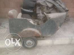 فسبا سنكار vespa side car
