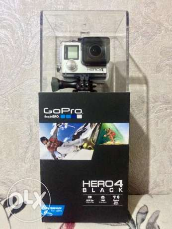 GoPro Hero4 Black Edition *Brand New* جديده ضمان سنه