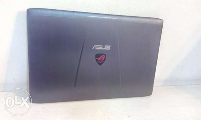 ASUS ROG with nVidia GTX960M - 2 GB Ded.