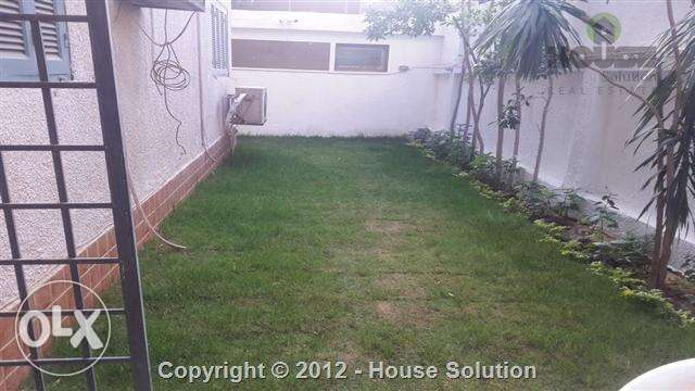 Ultra Modern Flat With Garden Very Close C.A.C Fully Furnished For Re