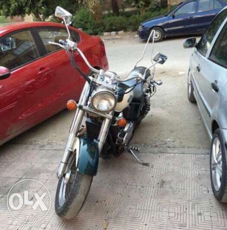 honda shadow ..هوندا شادو مدينة نصر -  1