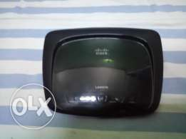 Linksys 4port Router cisco wag 120n