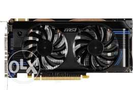 Msi Nvidia Gtx560 DR5 For Games and Design