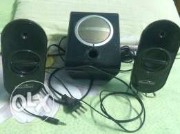 speaker media tech 2*1