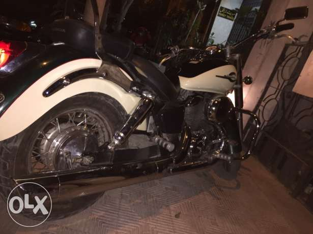 Honda shadow 400 العبور -  3