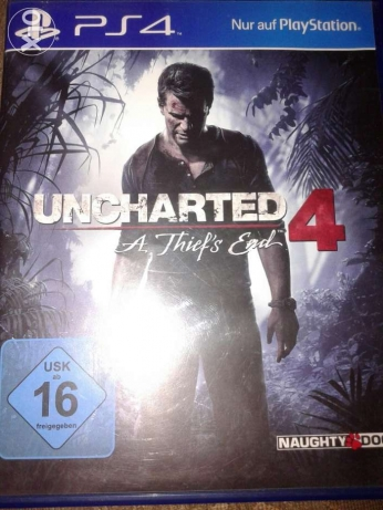 Uncharted Cd ps4