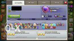 Clash of clans كلاش اوف كلانس تاون ١١ ماكس