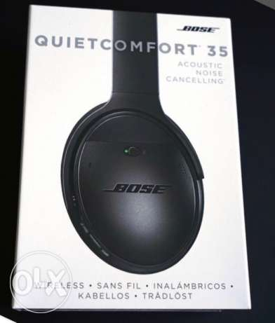Bose QuiteComfort 35 black sound cancellation Bluetooth