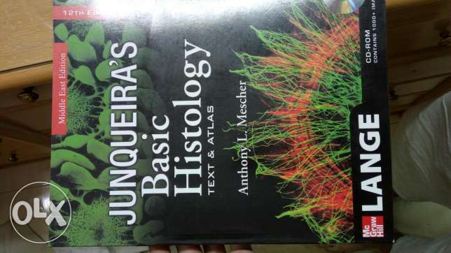 Junqueira's basic histology text & atlas edition 12th