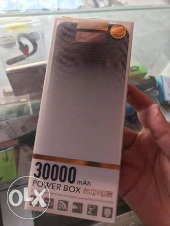 power bank Remax proda 30000 mAh new بسعر لقطة