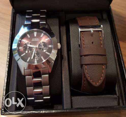 used guess watch for men
