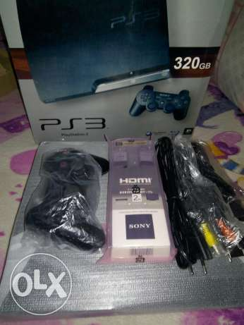 3 ps3 slim 320 g zeroo جداد