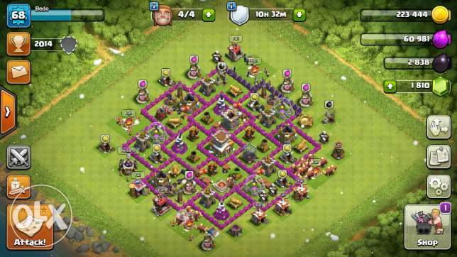 Clash of clan and clash Royale حلوان -  2