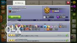 Clash of Clans Semi Maxed town hall 8