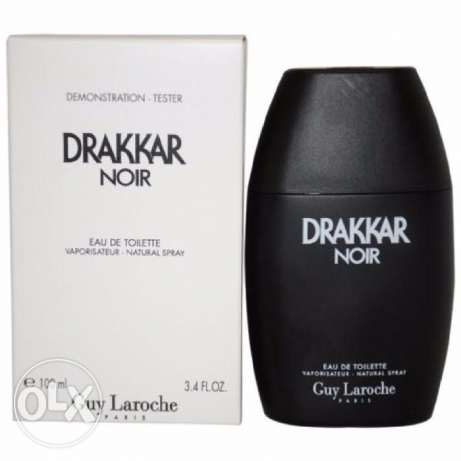 Drakkar Noir Guy Laroche 3.4oz / 100ml EDT Spray Tester NEW IN BOX