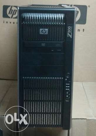 ب2 برسيسور// للجرافيك العالي HP WORKSTATION Z800//كاش24ميجا/رمات24جيجا