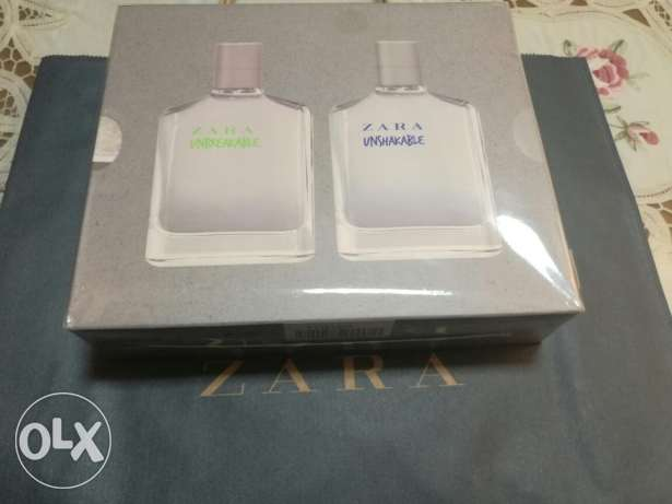 Original Zara eau de toilet 2x100 ml = 200 ml sealed زارا أصلي زجاجتين
