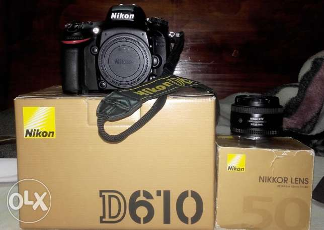 Nikon D610 With All Acc