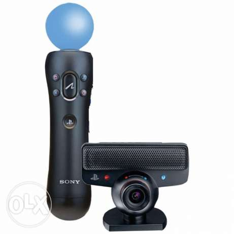 1Sony original ps3 ps move and ps eye camera new boxed
