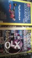 2 national geographic & dvd