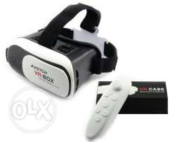 vr box with warranty and remote control