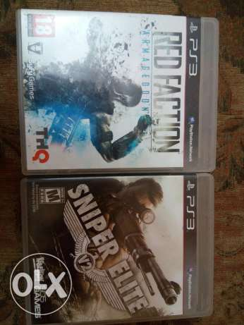 2 CDs Red Faction - SniperElite 2
