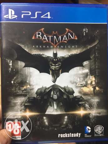 "BATMAN ""Arkham Knight"" PS4"