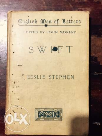 English man of letters SWIFT