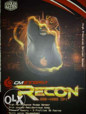 Cooler Master storm recon Gaming mous
