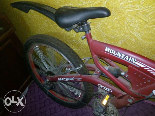 Bike 24 used like new red color شبرا -  1