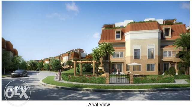 S Villa for sale in Sarai compound ساراي كومباوند اس فيلا