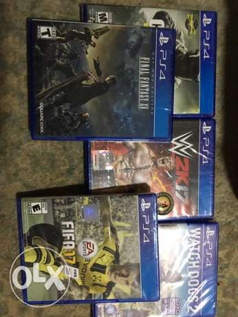 new ps4 games watch dogs 2 fifa 17 wwe 2k 17 cod iw finale fantasy xv