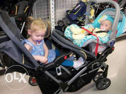 Brand baby trend for twins