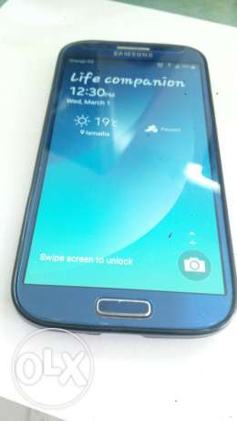 Samsung Galaxy s4 blue marine with box