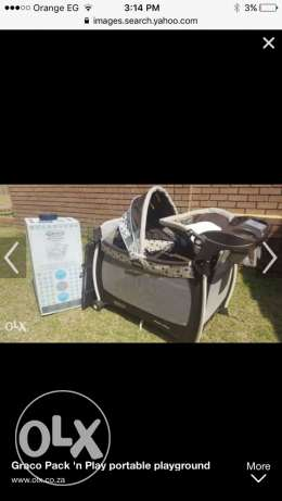 travel cot graco