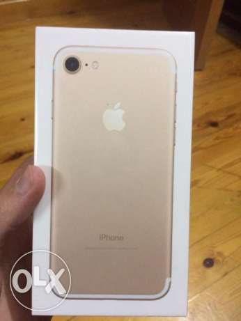 iPhone 7 gold 32 متبرشم