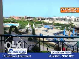 SS-825- Apartment for Sale in Resort - Nabq Bay / شقة للبيع بشرم الشيخ