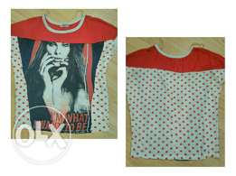 Red dots blouse