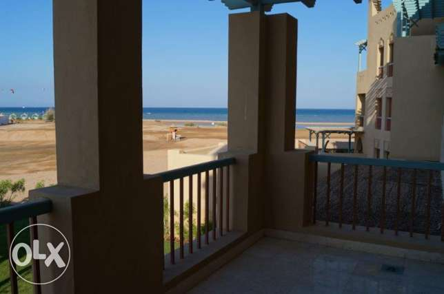 Sea view apartment in New Marina, El Gouna الغردقة -  3