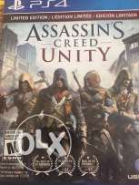 Assassint's creed unity used for 1 week
