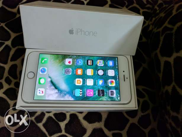 iPhone 6 Plus Silver White Excellent Condition