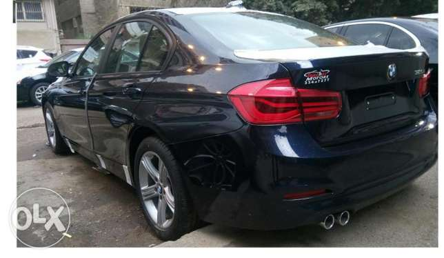 استلام فوررري زيروو BMW 320i exclousive موديل 2017