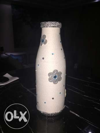 unique handmade vase- winter version مدينتي -  6