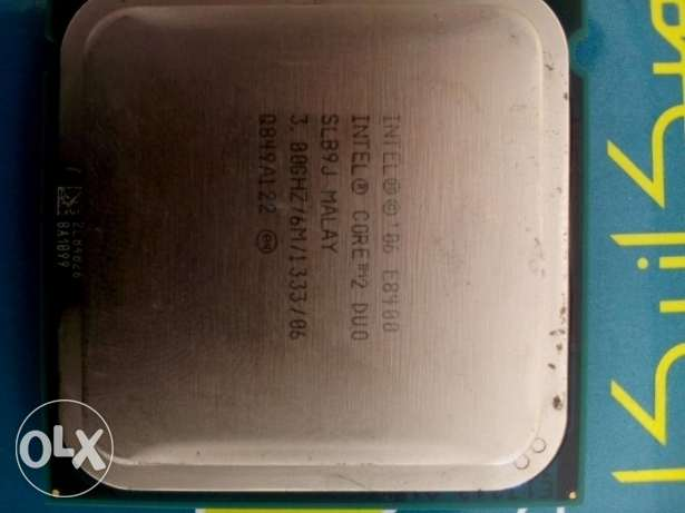 Prosseor Intel core 2duo E8500 cash 6m