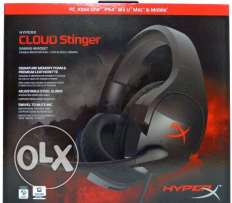 HyperX Cloud Stinger Gaming Headset for PC, Xbox1, PS4 **جديدة متبرشمة